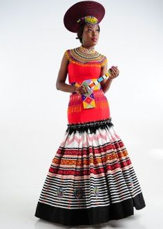 African Fashion – Designer Fashion Tips African Fashion Ankara, African Wear, African Dress, African Style, South African Traditional Dresses, Traditional Wedding Dresses, Traditional Weddings, Africa Fashion, Sands