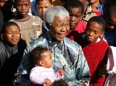 Former South African president, Nelson Mandela. (Reuters)