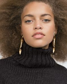 LONG SPIRAL EARRINGS-View all-Accessories-WOMAN | ZARA United States