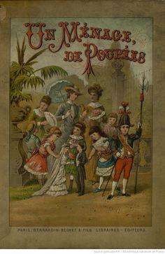Un ménage de poupées, par Mme Marie Laubot, 1884
