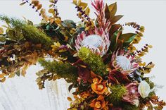 wedding-decorations-native-australian-flowwers-bride-banksia214