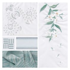 "Gayle Warwick Fine Linen on Instagram: ""A celadon mood board featuring delicate Night Jasmine flowers...swipe to see Night Jasmine skilfully brought to life on our Organic cotton…"" Jasmine, Linens, Organic Cotton, Delicate, Mood, Night, Flowers, Instagram, Bedding"