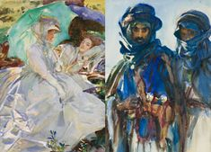 Ummm, must see this, must go to Brooklyn (4/5 through 7/28/14), putting it in my calendar now!    Sargent: Bedouins; Sargent: Simplon Pass: Reading