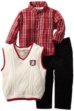 Baby Togs Boys Infant Sweater Vest, Ivory, 12 Months Baby Togs,http://www.amazon.com/dp/B004JFRZQY/ref=cm_sw_r_pi_dp_OVT.rb1X59GDYAZ5