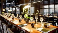 Discover French top chef 2012 restaurant in Paris l'acajou