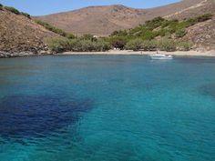 """Παραλία Γριά Σπηλιά (ή """"του Αμερικάνου"""") Greece, Europe, River, Island, Outdoor, Greece Country, Outdoors, Islands, Outdoor Games"""