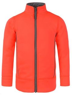 """NQ Little Boy Girl Long Sleeve Zipper Solid Casual Sport Jacket orange 6. All of our size is Asian size, pls choose bigger. US 3y:Length:16.54""""(42cm) Chest:23.03""""(58.5cm). US 4y:Length:17.32""""(44cm) Chest:24.02""""(61cm). US 5y:Length:18.11""""(46cm) Chest:25.00""""(63.5cm). US 6y:Length:19.29""""(49cm) Chest:25.98""""(66cm)."""