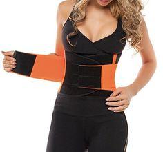 8a80d66d50d Newest Women s Waist Trainer Corset Waist Power Belt Body Shapers  Adjustable Waist Support Breathable Cinchers