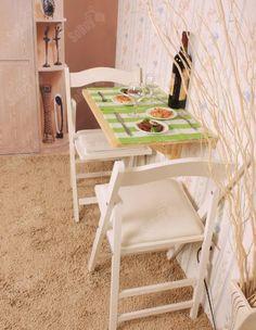 SoBuy® Tavolo pieghevole a muro,Scrivanie, Tavolo per Computer,Tavolo da cucina,SENZA SEDIA, FWT03-N,IT: Amazon.it: Casa e cucina