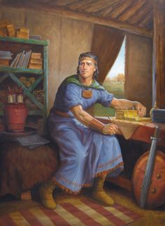 Heartland Art: Mormon in the Heartland (painted by David Lindsley)