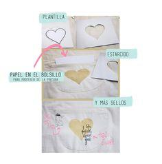 Delantal DIY - bolsillo - Ann's Miles