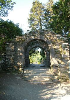 mystical stone gateways | Glendalough, a mystical and beautiful place in Ireland | Frame to ...
