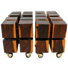 Modular Cube Tables by Don Shoemaker.