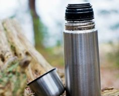 How to Clean a Stainless Steel Travel Mug - Cleaning a Vacuum-Sealed Coffee Container or glass/metal water bottles.