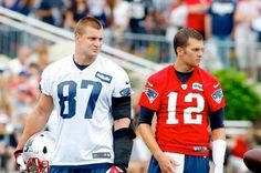 New England Patriots Training Camp: Fans Get a Welcome Sight During Practice--a Tom Brady to Rob Gronkowski Connection! | FatManWriting