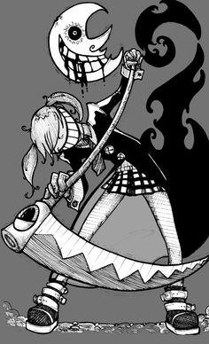 Flashback post: Soul Eater fanarts (2011-2012) Drawn/inked traditionally - toned digitally.