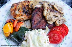 Gourmet Girl Cooks: Sunday's Mixed Grill - Easy Low Carb