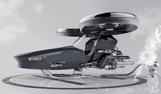 Helivehicle Emergency Helicopter by Jung Hyun Min