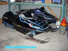 1992 Polaris XLT, rare sled.