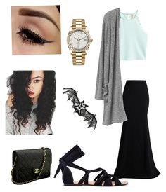 """Attending my Ex's wedding"" by leahtocute on Polyvore featuring Chanel, Rolex and Roland Mouret"
