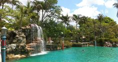 Venetian pool in Coral Gables FL