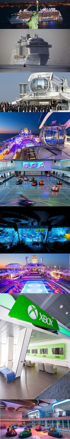 Stay connected 24/7 on Anthem of the Seas, it has more bandwidth than every other cruise ship in the world combined so you can keep in touch with friends and family, and even play Xbox Live with gamers worldwide.