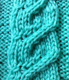 The Weekly Stitch: Spiral Cable