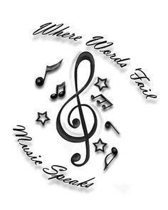 music tattoo that I want