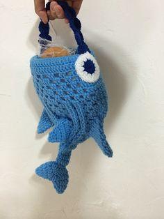 Whale Shark Mini Tote Bag Crochet Pattern