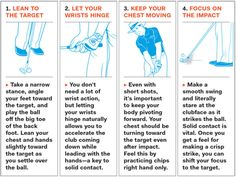 Anatomy of a Chip Shot: How to hit crisp chip shots every time. http://www.golfdigest.com/story/david-leadbetter-chipping-drill