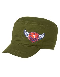 Quilted Cadet Hat at Gymboree