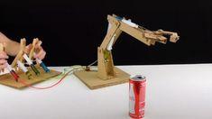 DIY Robotic arm DIY and crafts Robotic arms Diy Crafts Hacks, Diy Home Crafts, Diy Arts And Crafts, Fun Crafts, School Science Projects, Science Experiments Kids, Science For Kids, Science Diy, Robot Arm