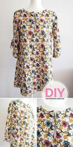 """DIY Tunic Dress 