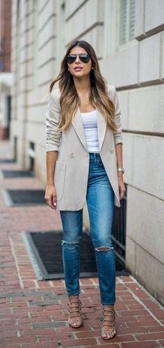 #fall #fashion / casual chic
