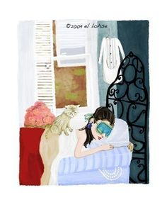 Breakfast at Tiffanys Holly Golightly gets her beauty by elloh, $35.00