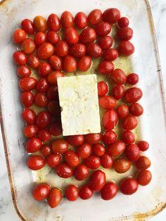 Tomato Pasta Bake, Cheese Pasta Bake, Feta Pasta, Baked Cheese, Pasta With Feta Cheese, Feta Cheese Recipes, Cheese Dishes, Pasta Dishes, Pasta Recipes