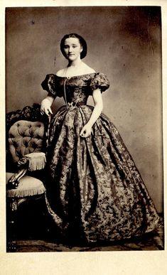 "Portrait of Eleonore ""Felicie"" Bull, ca 1863 Norway (Oslo)"