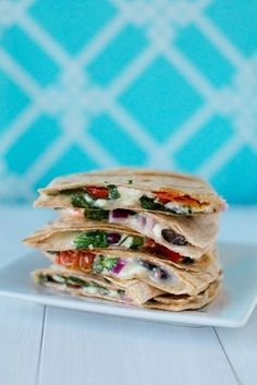 greek quesadillas by annieseats, via flickr