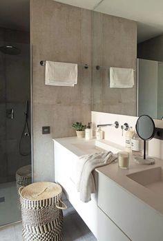 〚 Cozy apartment with industrial elements in Barcelona 〛 ◾ Photos ◾Ideas◾ Design Spacious Living Room, Living Room Kitchen, Cozy Living, Design Industrial, Best Bathroom Designs, Cozy Apartment, Beautiful Interiors, Bathroom Inspiration, Decoration