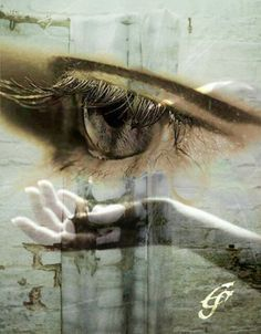 The most painful tears are not the ones that fall from your eyes and cover your face ~ it's the ones that fall from your Heart and cover your Soul ~~~♡ Creative Photography, Art Photography, Double Exposure Photography, Photocollage, Art Original, Deviant Art, Eye Art, Drawing, Belle Photo