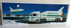 Several more Hess trucks listed, so be sure to check them out! Great collectible item! Brand new in box, never been played with. Does not come with batteries, even though stated on box.