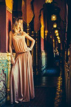 Soleman maxi dress - Lulu Yasmine Marrakech Mood Spring 2014 collection