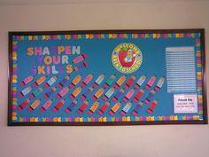 beginning of the school year bulletin boards | Back to school Bulletin board | Flickr - Photo Sharing!
