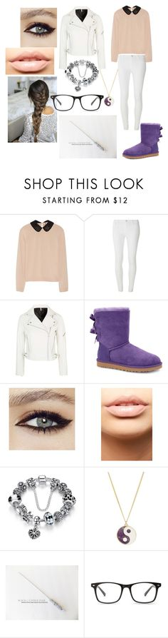 """Eleanora's Outfit 3"" by angel-heart-meow ❤ liked on Polyvore featuring N°21, Dorothy Perkins, Topshop, UGG Australia, MDMflow and Accessorize"