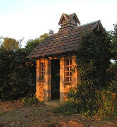 Garden shed by Robert Otterson