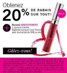 Offre valide jusqu'au 14 février sur Annabelle.com seulement. Gâtez-vous! xox #promo #stvalentin #cadeau Straightener, Promotion, Beauty, Gift, Beauty Illustration
