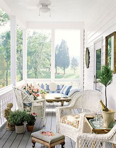 country outdoor living | Country Living Magazine a little bit of everyone's dream porch