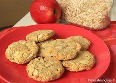 Biscuits avoine amandes pommes