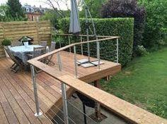 Bildergebnis für terrasse bois metal pilotis
