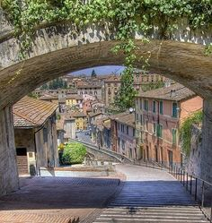 Perugia, Italy Never tired of walking these steps!